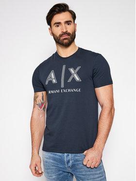 Armani Exchange Armani Exchange Marškinėliai 3KZTAF ZJ4JZ 1510 Tamsiai mėlyna Regular Fit