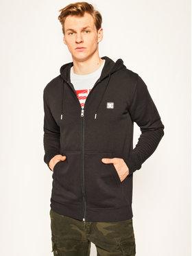 DC DC Sweatshirt Rebel EDYFT03492 Schwarz Regular Fit