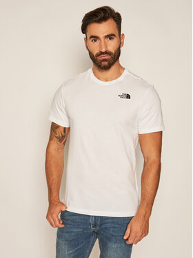 The North Face The North Face T-Shirt Ss Redbox Cel Tee NF0A2ZXEVW61 Bílá Regular Fit