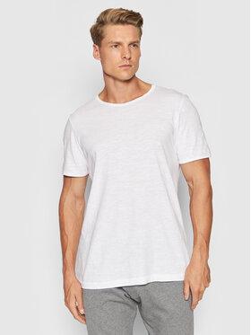 Selected Homme Selected Homme T-Shirt Morgan 16071775 Bílá Regular Fit
