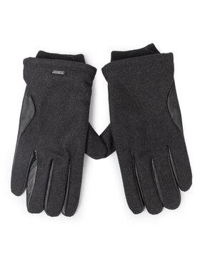 Pepe Jeans Pepe Jeans Pánske rukavice Antuan Gloves PM080051 Čierna