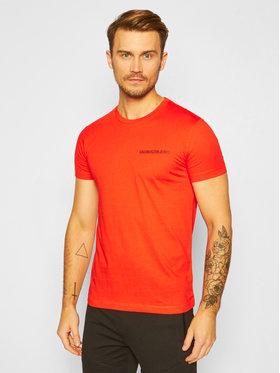 Calvin Klein Jeans Calvin Klein Jeans Marškinėliai J30J315245 Raudona Slim Fit