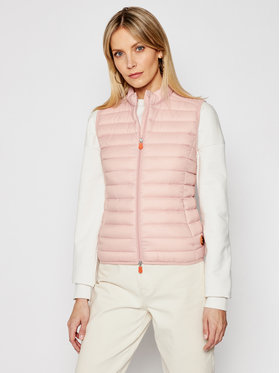 Save The Duck Save The Duck Gilet D85310W GIGA12 Rosa Regular Fit