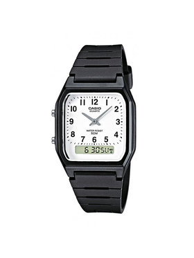 Casio Casio Часовник AW-48H-7BVEG Черен