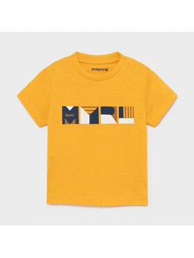 Mayoral Mayoral T-Shirt 106 Gelb Regular Fit