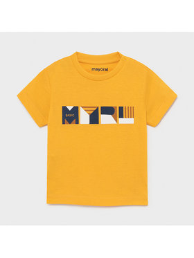 Mayoral Mayoral T-shirt 106 Giallo Regular Fit