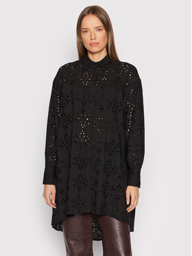 YAS YAS Chemise Yasriveri 26024730 Noir Relaxed Fit