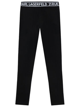 KARL LAGERFELD KARL LAGERFELD Leggings Z14148 M Noir Slim Fit