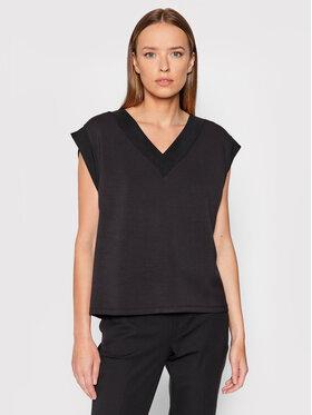 Vero Moda Vero Moda Majica Silky 10257332 Crna Regular Fit