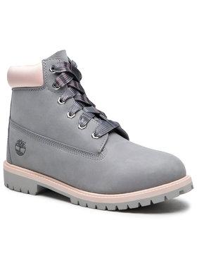 Timberland Timberland Ορειβατικά παπούτσια 6 In Premium WP Boot TB0A41TGD52 Γκρι