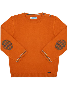 Mayoral Mayoral Sweater 351 Narancssárga Regular Fit