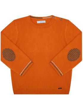 Mayoral Mayoral Sweter 351 Pomarańczowy Regular Fit