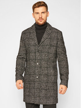 Roy Robson Roy Robson Vlnený kabát 3990-98 Farebná Slim Fit