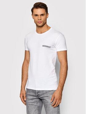 Emporio Armani Underwear Emporio Armani Underwear Тишърт 111035 1A729 00010 Бял Slim Fit