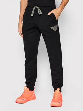 Emporio Armani Underwear Emporio Armani Underwear Melegítő alsó 111690 1A571 00020 Fekete Regular Fit