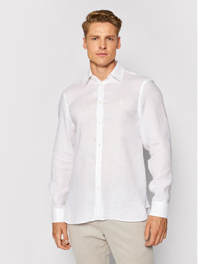 Trussardi Trussardi Košulja 52C00212 Bijela Close Fit