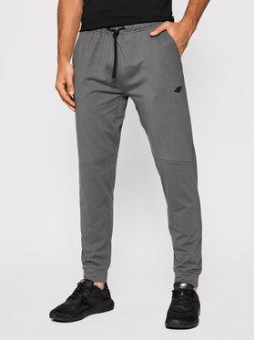 4F 4F Teplákové kalhoty D4Z20-SPMTR111 Šedá Regular Fit