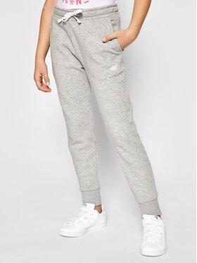 4F 4F Pantaloni da tuta JSPDD001 Grigio Regular Fit