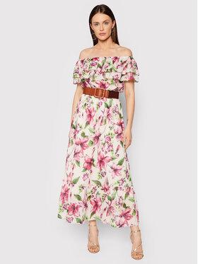 Liu Jo Liu Jo Sukienka letnia WA1496 T5976 Kolorowy Regular Fit