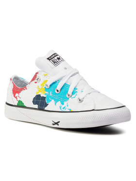 Converse Converse Sneakers aus Stoff Ctas Ox 668458C Weiß