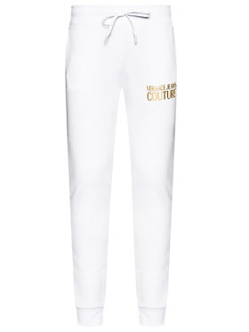 Versace Jeans Couture Versace Jeans Couture Долнище анцуг A1HWA1TA Бял Regular Fit