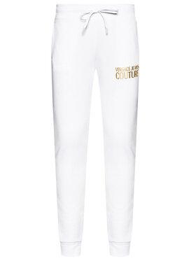 Versace Jeans Couture Versace Jeans Couture Teplákové kalhoty A1HWA1TA Bílá Regular Fit