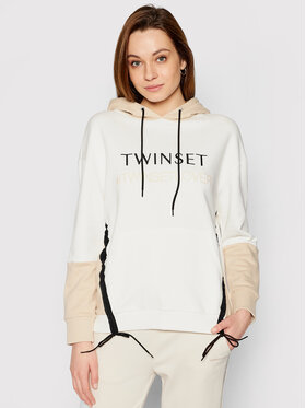 TwinSet TwinSet Sweatshirt 211LL2LGG Beige Regular Fit