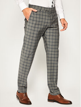 Strellson Strellson Společenské kalhoty 11 Mercer2.012 30020625 Šedá Slim Fit