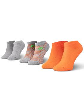 Mayoral Mayoral Set di 3 paia di calzini corti da bambini 10783 Grigio