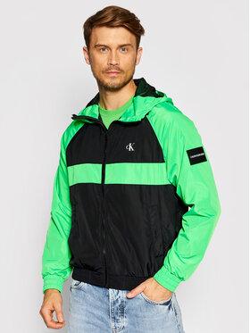 Calvin Klein Jeans Calvin Klein Jeans Bunda pro přechodné období J30J317533 Zelená Regular Fit