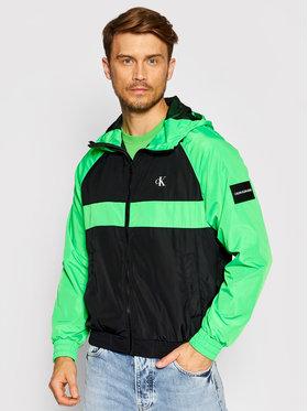 Calvin Klein Jeans Calvin Klein Jeans Demisezoninė striukė J30J317533 Žalia Regular Fit