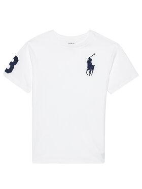 Polo Ralph Lauren Polo Ralph Lauren Marškinėliai Ss Cn 323832907017 Balta Regular Fit