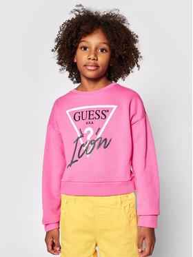 Guess Guess Bluza J1RQ14 KAD70 Różowy Relaxed Fit