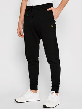 Lyle & Scott Lyle & Scott Jogginghose ML822VTR Schwarz Skinny Fit