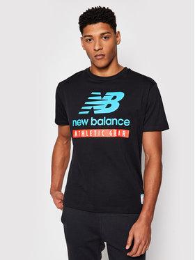 New Balance New Balance T-Shirt MT11517BK Athletic Fit