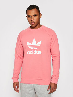 adidas adidas Sweatshirt Trefoil Crew GP1025 Rosa Standard Fit