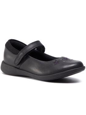 Clarks Clarks Pantofi Etch Bright K 261511246 Negru