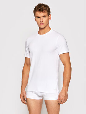 Henderson Henderson T-Shirt Bosco 18731 Biały Regular Fit