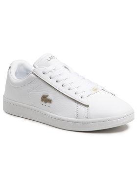 Lacoste Lacoste Sneakersy Carnaby Evo 0721 3 Sfa 7-41SFA003221G Biały