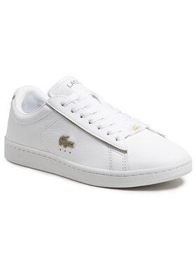 Lacoste Lacoste Sneakersy Carnaby Evo 0721 3 Sfa 7-41SFA003221G Biela