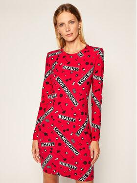 LOVE MOSCHINO LOVE MOSCHINO Vestito da giorno W5B8700E 2166 Rosso Regular Fit