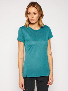 Salewa Salewa T-Shirt Solid Dry 27019 Blau Regular Fit