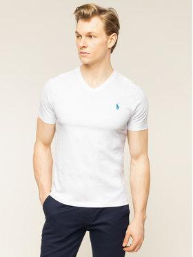 Polo Ralph Lauren Polo Ralph Lauren T-Shirt 710671453008 Biały Slim Fit