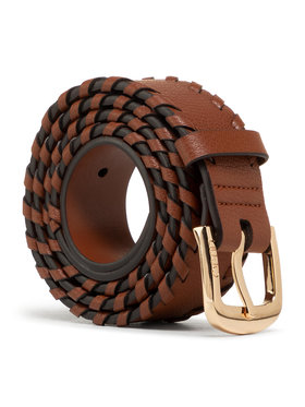 Liu Jo Liu Jo Дамски колан Cintura 3.5 Cm AA1012 E0031 Кафяв