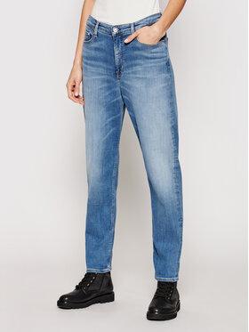 Calvin Klein Calvin Klein Džinsai K20K202985 Tamsiai mėlyna Slim Fit