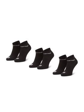 Salomon Salomon Set di 3 paia di calzini corti da uomo Live Low 3 Pack 09949 58 E0 Nero