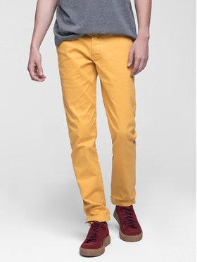 Vistula Vistula Spodnie materiałowe Flint XA0613 Żółty Slim Fit