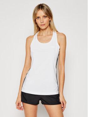 adidas adidas Top Design 2 Move 3-Stripes DU2057 Biały Slim Fit
