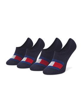 Tommy Hilfiger Tommy Hilfiger Set de 2 perechi de șosete scurte pentru bărbați 100002662 Bleumarin