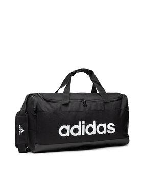 adidas adidas Táska Linear Duffel M GN2038 Fekete